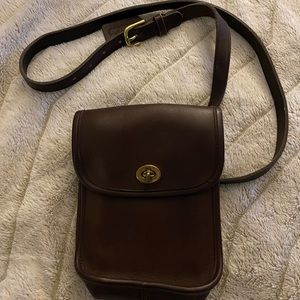 Vintage Coach Camera Bag Crossbody Purse